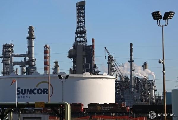 Suncor refinery