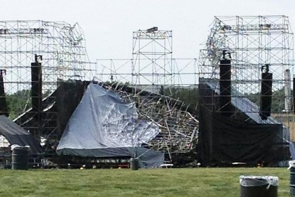 Radiohead Downsview stage