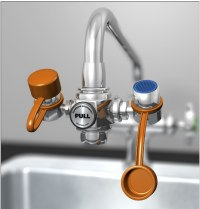 EyeSafe turns faucet into emergency eye wash