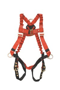 Stretchable harness for comfort