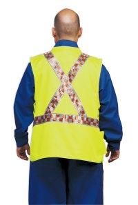 Vests in colour
