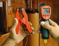 Wide range infrared thermometer