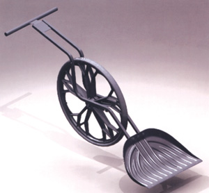 Shovel with a difference