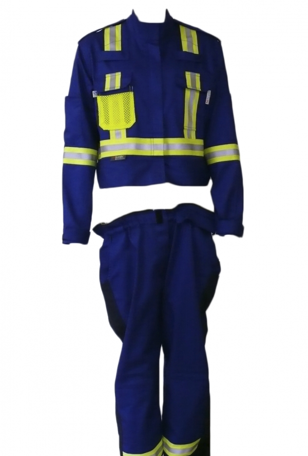 Detachable coverall bottom
