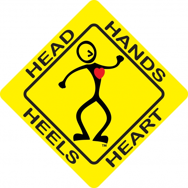 Head, hands, heels, heart