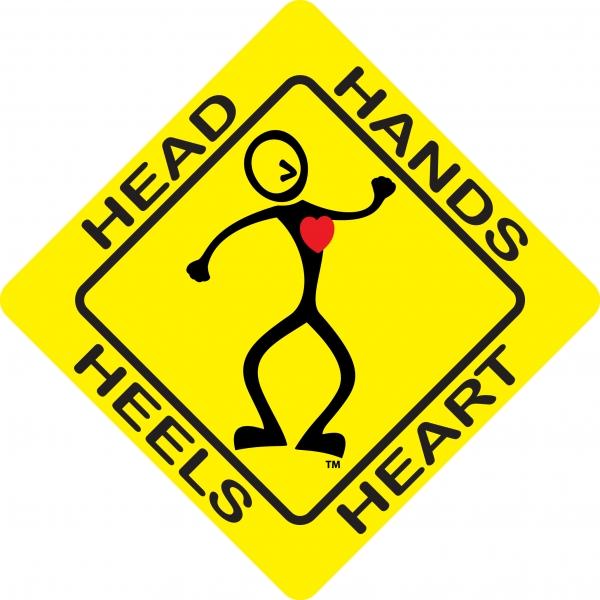 Head, hands, heels, heart