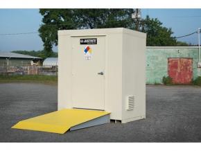 Outdoor safety locker