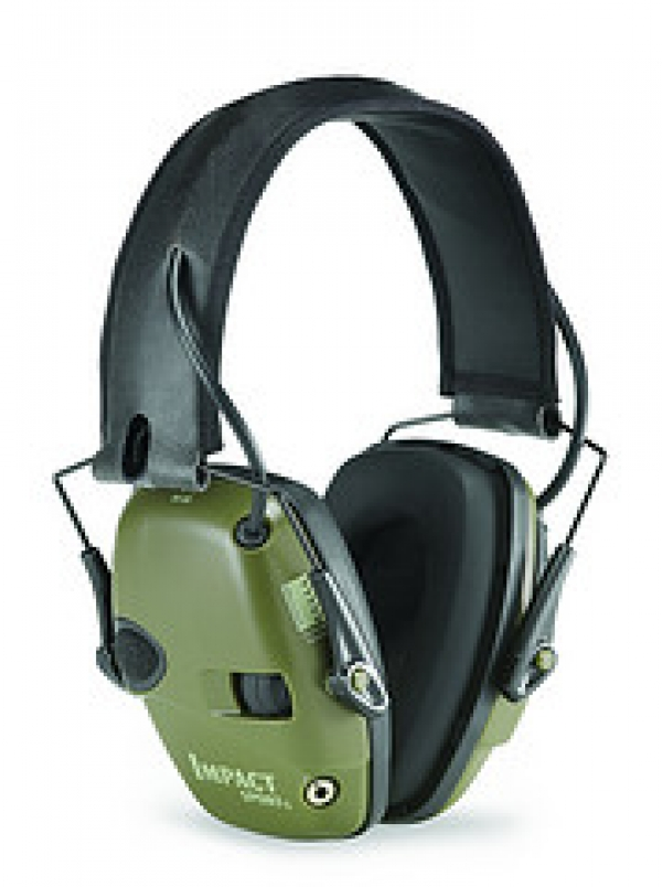 Sound amplification earmuffs