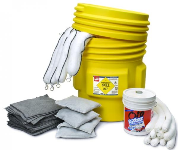 Heavy-duty spill kit