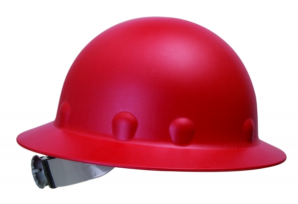Full-brim hard hat
