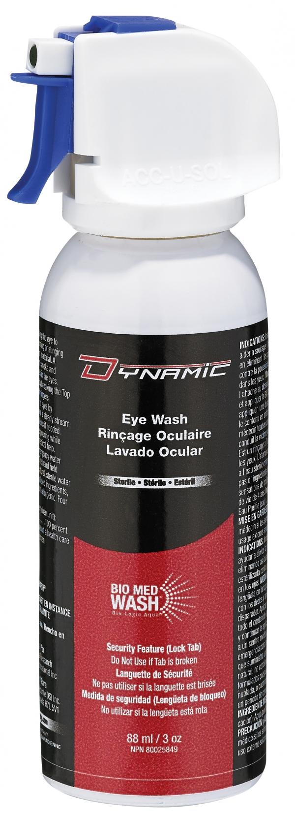 Dynamic eyewash