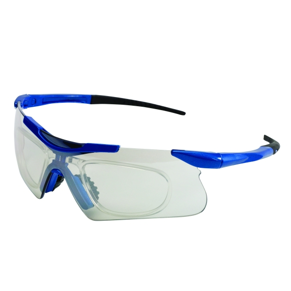 Safety eyewear with Rx inserts