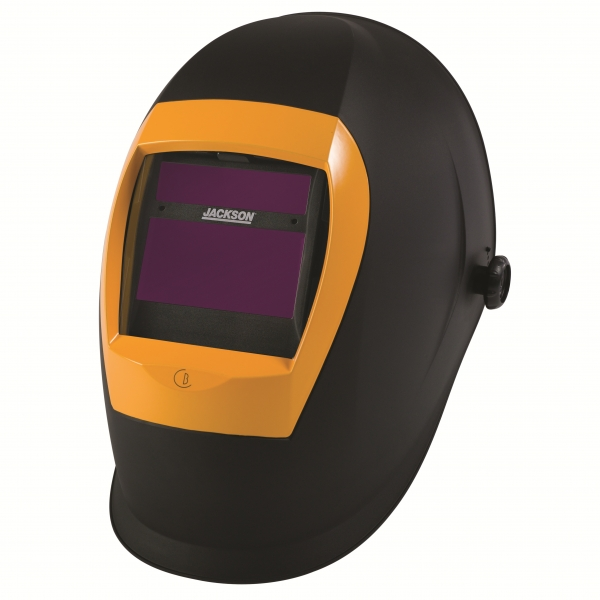 Auto-darkening filter welding helmet