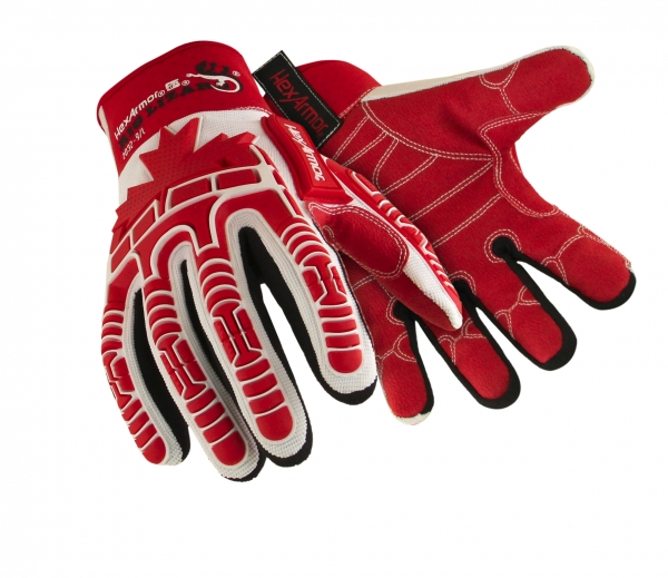 Maple leaf gloves