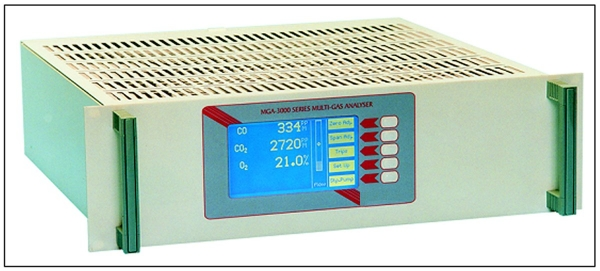 Multi-gas infrared analyzer