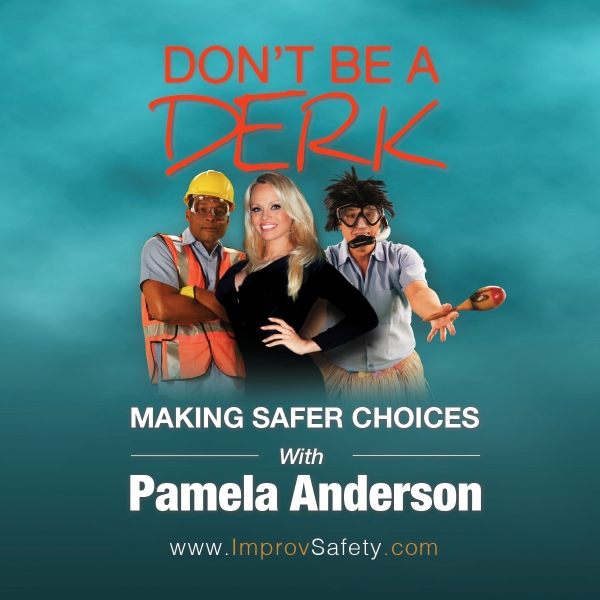 Safety training with Pamela Anderson