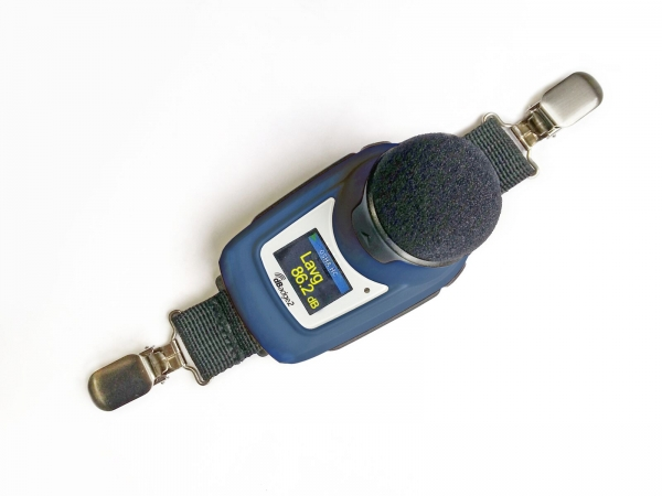 Wireless noise dosimeter
