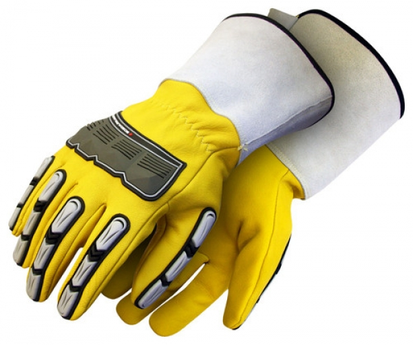 Specialty impact performance gloves