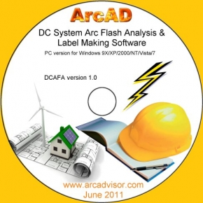 DC Arc Flash Analytic software