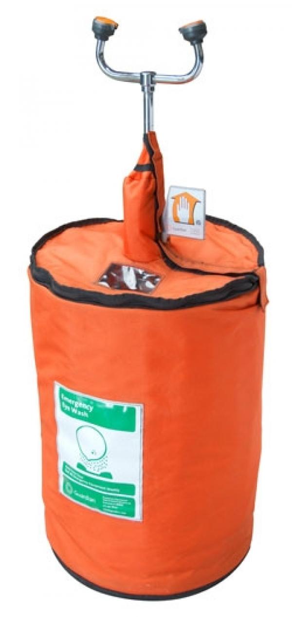 15-gallon portable eyewash unit