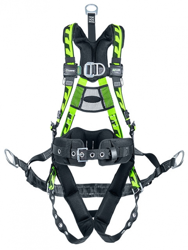 Harness for oil and gas workers