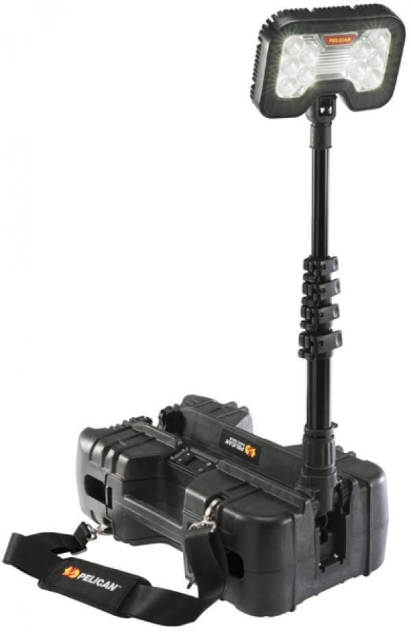 Remote air lighting system