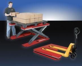 Easy rolling manual palletizer