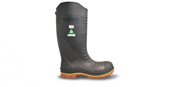 Metal-free safety work boot