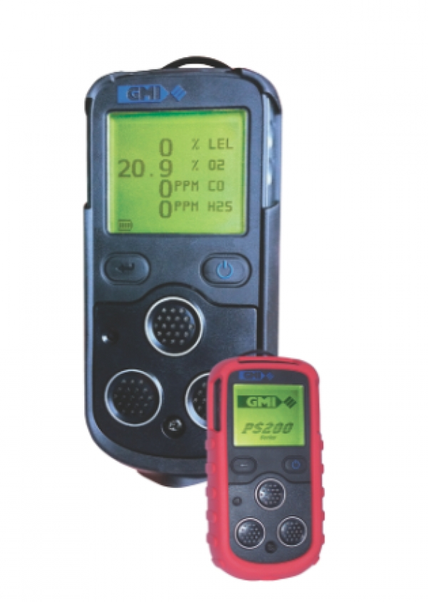 Lightweight gas detector