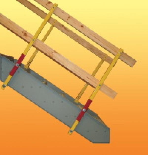 No-drill guardrail clamp