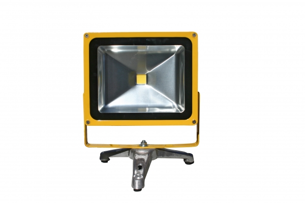 30W rechargeable battery powered LED floodlight