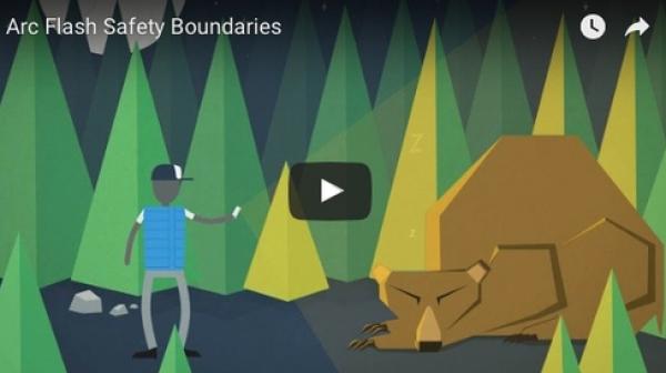 Arc flash boundaries