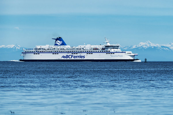 BC Ferries CEO signs BC Safety Charter