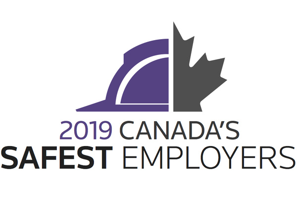 Congratulations to the 2019 Canada's Safest Employers