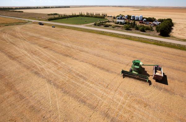 SaskPower focuses on power line safety for harvest season