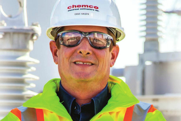 Congrats to Dave Hagen, the 2014 Safety Leader of the Year