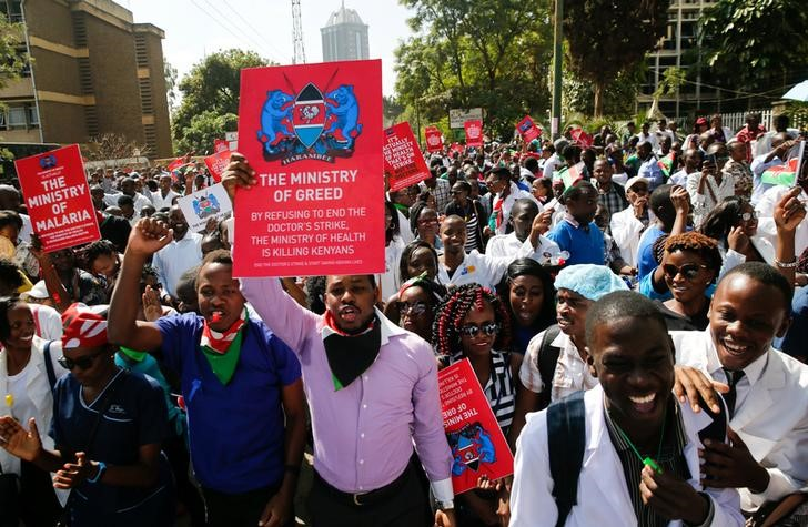 Kenya doctors end three-month strike after deal with government