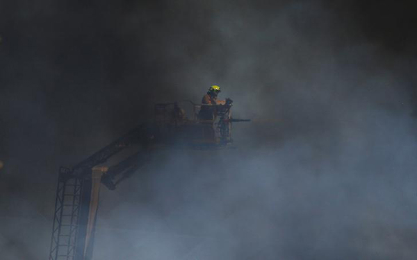 Heat and exertion tied to heart attacks in healthy firefighters
