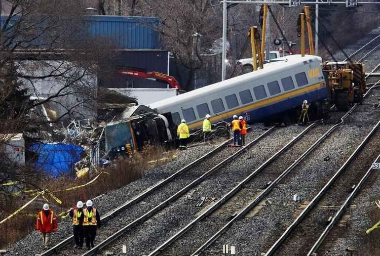 Via Rail derailment