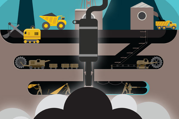 Diesel particulate matter exposing underground miners to serious health risks
