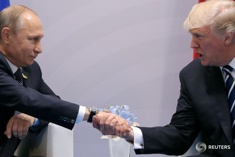 Trump thanks Putin for slashing U.S. payroll