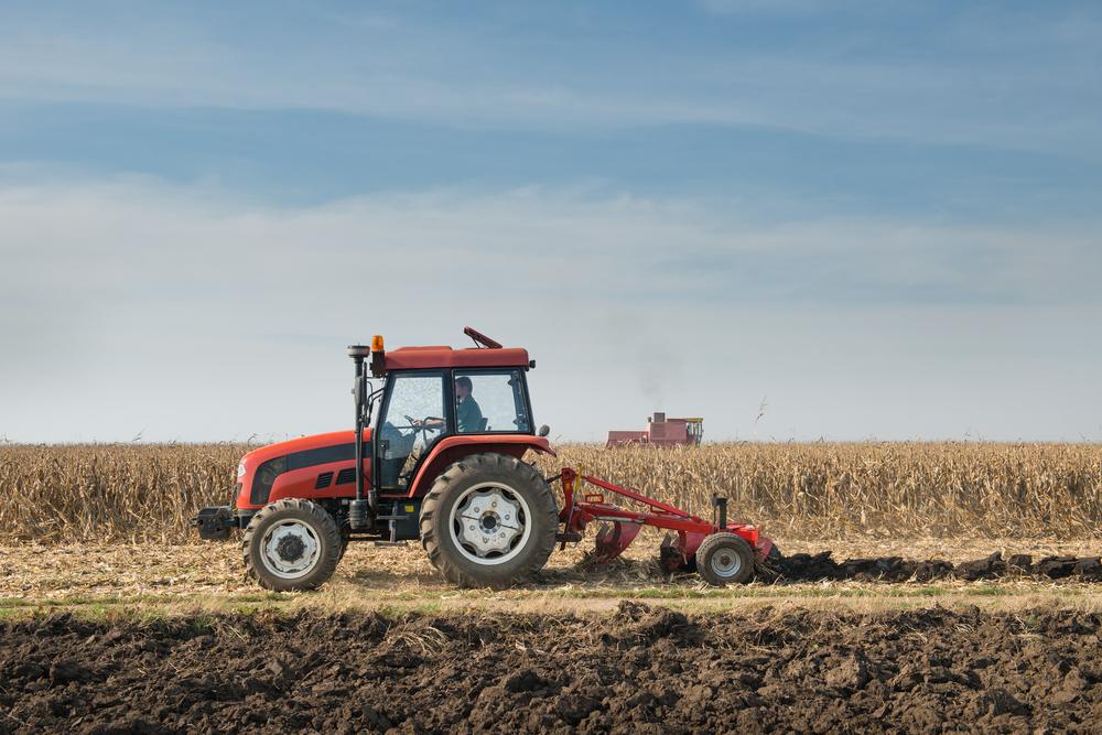 Tractor, Plow