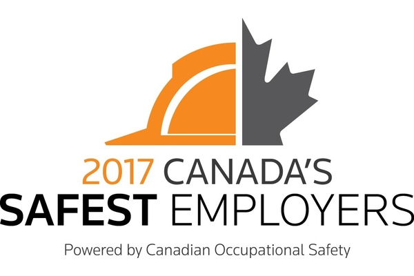 Congratulations to the 2017 Canada's Safest Employers