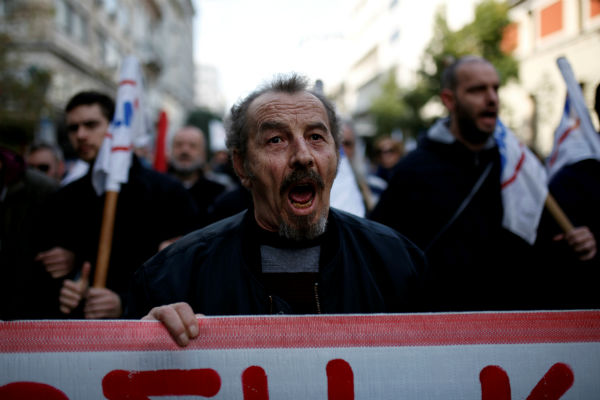 Protesters shut down Greek capital in mass protests