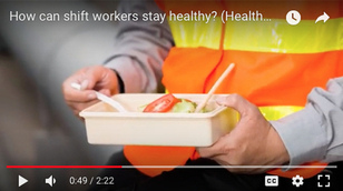 How can shift workers stay healthy?
