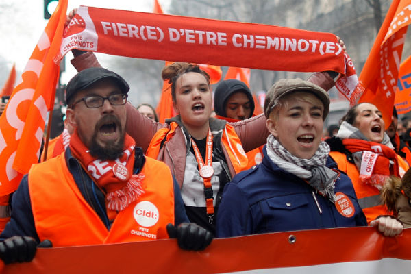 Thousands walk off jobs in France