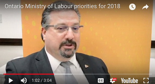 Peter Augruso, ministry of Labour