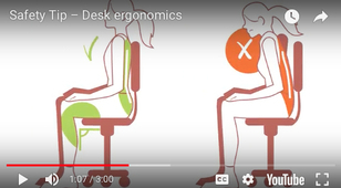 Safety Tip – Desk Ergonomics