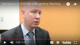 Hot topics in OHS law 2018
