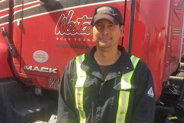 Westcan drivers stop for safety